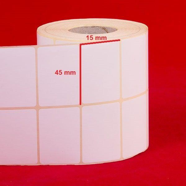 لیبل کاغذی 45 × 15