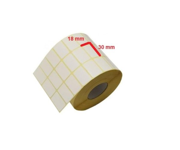 لیبل کاغذی 30 × 18