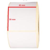 لیبل کاغذی 50 × 40