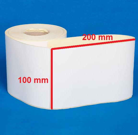 لیبل کاغذی 200 × 100