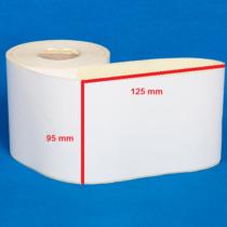لیبل کاغذی 125 × 95