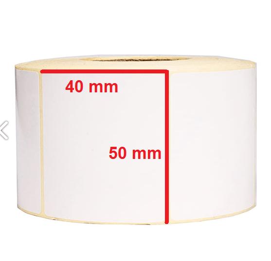 لیبل حرارتی 50 × 40